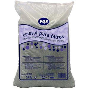 Cristal para filtro de arena