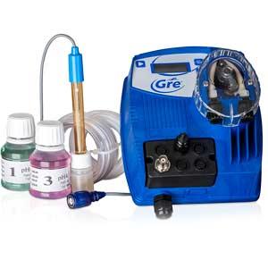 Regulador de pH automático Gre con sonda de medición