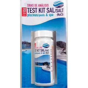 Tiras reactivas para test de sal PQS