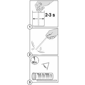 Pasos para usar las tiras reactivas para medir ph y cloro en piscinas